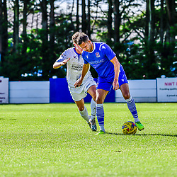 Harry Williams on the ball for Swindon Supermarine fc