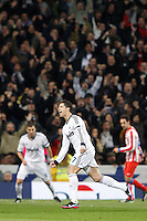 01.12.2012 SPAIN -  La Liga 12/13 Matchday 14th  match played between Real Madrid CF vs  Atletico de Madrid (2-0) at Santiago Bernabeu stadium. The picture show Cristiano Ronaldo (Portuguese forward of Real Madrid)