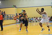 DESCRIZIONE : Varallo Torneo di Varallo Lega A 2011-12 EA7 Emporio Armani Milano Banco di Sardegna Sassari<br /> GIOCATORE : Brian Sacchetti<br /> CATEGORIA : Palleggio<br /> SQUADRA : Banco di Sardegna Sassari<br /> EVENTO : Campionato Lega A 2011-2012<br /> GARA : EA7 Emporio Armani Milano Banco di Sardegna Sassari<br /> DATA : 11/09/2011<br /> SPORT : Pallacanestro<br /> AUTORE : Agenzia Ciamillo-Castoria/A.Dealberto<br /> Galleria : Lega Basket A 2011-2012<br /> Fotonotizia : Varallo Torneo di Varallo Lega A 2011-12 EA7 Emporio Armani Milano Banco di Sardegna Sassari<br /> Predefinita :