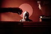Cassiera, Addis Abeba 8 settembre 2014.  Christian Mantuano / OneShot