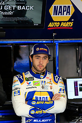 March 23, 2019 - Martinsville, VA, U.S. - MARTINSVILLE, VA - MARCH 23:  #9: Chase Elliott, Hendrick Motorsports, Chevrolet Camaro NAPA AUTO PARTS looks on during practice for the STP 500 Monster Energy NASCAR Cup Series race on March 23, 2019 at the Martinsville Speedway in Martinsville, VA.  (Photo by David J. Griffin/Icon Sportswire) (Credit Image: © David J. Griffin/Icon SMI via ZUMA Press)