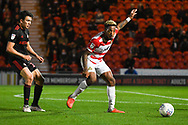 Mallik Wilks of Doncaster Rovers (7) passes the ball during the EFL Sky Bet League 1 match between Doncaster Rovers and Sunderland at the Keepmoat Stadium, Doncaster, England on 23 October 2018.