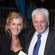 NLD/Scheveningen/20131130 - Inloop concert 200 Jaar Koningrijk der Nederlanden, Jan Slagter en partner Ingrid