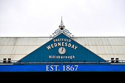 General view of the clock at Hillsborough