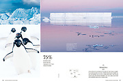 Antarctic images published in National Geographic Traveler Korean magazine Korean edition.
