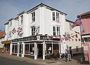 David's Place restaurant cafe bar, Aldeburgh, Suffolk, England