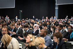 2 December 2019, Madrid, Spain: Delegates and observers gather as the 25th UN climate conference (COP25) opening plenaries take place in Madrid.