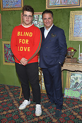 October 4, 2018 - Hollywood, California, U.S. - Andy Garcia and Andres Garcia-Lorido arrives for the HBO's 'My Dinner With Herve' Los Angeles Premiere on the Paramount Studios Lot. (Credit Image: © Lisa O'Connor/ZUMA Wire)