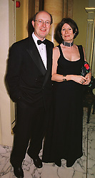 The HON.KEVIN & MRS PAKENHAM he is the son of Lord Longford,  at a ball in London on 14th June 1999.MTF 21