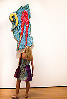 """Looking at """"Red Tights with Fragment 9"""", 1961 by Claes Oldenburg; MoMa"""