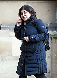 © Licensed to London News Pictures. 31/01/2018. London, UK. Baroness Sayeeda Warsi seen arriving at the House of Lords in Westminster. .Photo credit: Ben Cawthra/LNP