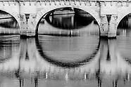 La Seine arrétée miroir de la ville NB