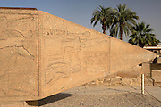 Obelisk, Temple of Amun at Karnak  Luxor, Egypt