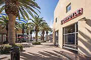 Chipotle Restaurant at City Place at Main Street Santa Ana