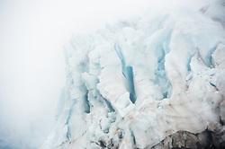 Melting glacier in Raudfjorden, Svalbard