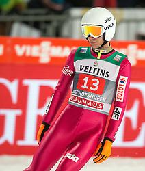 06.01.2015, Paul Ausserleitner Schanze, Bischofshofen, AUT, FIS Ski Sprung Weltcup, 63. Vierschanzentournee, Finale, im Bild Kamil Stoch (POL) // Kamil Stoch of Poland during Final Jump of 63rd Four Hills <br /> Tournament of FIS Ski Jumping World Cup at the Paul Ausserleitner Schanze, Bischofshofen, Austria on 2015/01/06. EXPA Pictures © 2015, PhotoCredit: EXPA/ JFK