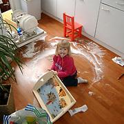 Diana Janssen rotzooi in de keuken