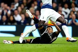 David Neres of Ajax is trampled on by Moussa Sissoko of Tottenham Hotspur - Mandatory by-line: Robbie Stephenson/JMP - 30/04/2019 - FOOTBALL - Tottenham Hotspur Stadium - London, England - Tottenham Hotspur v Ajax - UEFA Champions League Semi-Final 1st Leg