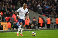 England Midfielder Ashley Young (3) in action during the Friendly match between England and Italy at Wembley Stadium, London, England on 27 March 2018. Picture by Stephen Wright.
