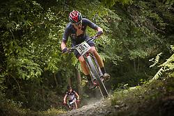 Jagodic David of Calcit Bike Team during the race of XCO National Championship of Slovenia 2021 on 27.06.2021 in Kamnik, Slovenia. Photo by Urban Meglič / Sportida