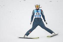 February 8, 2019 - Svenja Wuerth of Germany on first competition day of the FIS Ski Jumping World Cup Ladies Ljubno on February 8, 2019 in Ljubno, Slovenia. (Credit Image: © Rok Rakun/Pacific Press via ZUMA Wire)