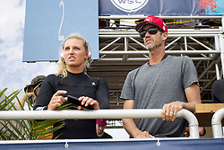 September 12, 2017 - Lakey Peterson of the USA before her Heat in Round Two of the Swatch Pro at Trestles, CA, USA...Swatch Pro 2017, California, USA - 12 Sep 2017 (Credit Image: © Rex Shutterstock via ZUMA Press)
