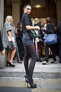 Sesto e penultimo giorno della Settimana della Moda a Milano<br /> <br /> Sixth day and penultimate day of Milan Fashion Week