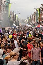Green Lanes food festival, Haringey London UK