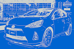 08 February 2012: 2012 TOYOTA PRIUS C: <br />