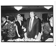 Marla Maples and Donald Trump. New York. 1991. © Copyright Photograph by Dafydd Jones 66 Stockwell Park Rd. London SW9 0DA Tel 020 7733 0108 www.dafjones.com
