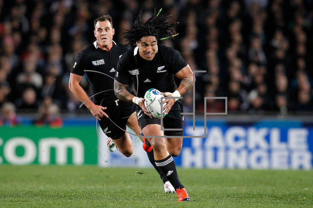 Auckland 09/09/2011 Eden Park <br /> Rugby World Cup : New Zealand vs Tonga<br /> Ma'a Nonu