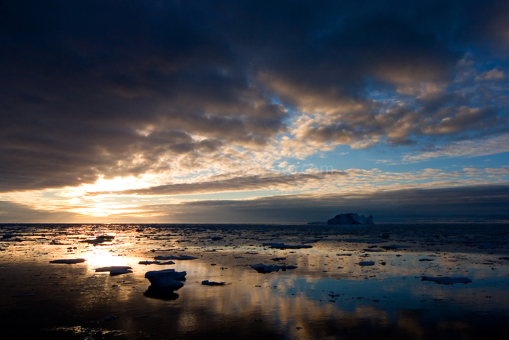 Ice and Icebergs, Southern Ocean, Antarctica