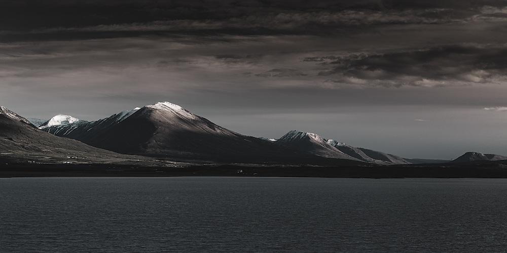 Sandfell and the Lögurinn lake