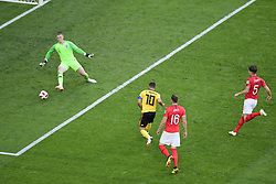 July 14, 2018 - Saint Petersbourg, Russie - SAINT PETERSBURG, RUSSIA - JULY 14 : goal Eden Hazard midfielder of Belgiumduring the FIFA 2018 World Cup Russia Play-off for third place match between Belgium and England at the Saint Petersburg Stadium on July 14, 2018 in Saint Petersburg, Russia, 14/07/18 (Credit Image: © Panoramic via ZUMA Press)