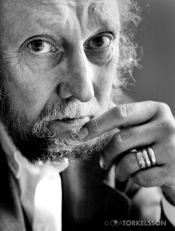 Torgny Lindgren, author.<br /> Photo Ola Torkelsson ©
