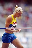 Friidrett, 23. august 2003, VM Paris,( World Championschip in Athletics),   Karolina Klüft, Sverige