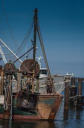 fishing boats in Hampton Bays, NY