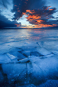 Sunrise on Canyon Ferry Lake