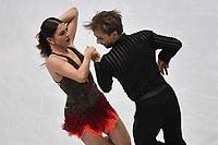 Kaitlin HAWAYEK, Jean-Luc BAKER USA <br /> Ice Dance Short Dance <br /> Milano 23/03/2018 Assago Forum <br /> Milano 2018 - ISU World Figure Skating Championships <br /> Foto Andrea Staccioli / Insidefoto