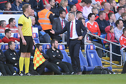 March 24, 2019 - Cardiff, United Kingdom - Ryan Giggs during the UEFA European Championship Group E Qualifying match between Wales and Slovakia at the Cardiff City Stadium, Cardiff on Sunday 24th March 2019. (Credit Image: © Mi News/NurPhoto via ZUMA Press)