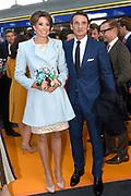 Koningsdag 2017 in Tilburg / Kingsday 2017 in Tilburg<br /> <br /> Op de foto / On the photo:  Prins Maurits en prinses Marilene / Prince Maurits en Princess Marilene