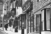 Engeland, England, Winchester, 25-8-1996 Straatbeeld. straat met antiekwinkels . antique, antiek, winkelFoto: Flip Franssen