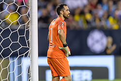 July 20, 2018 - Chicago, IL, USA - Chicago, Illinois - July 20, 2018: Manchester City and Borussia Dortmund play in a 2018 International Champions Cup match at Soldier Field. (Credit Image: © Daniel Bartel/ISIPhotos via ZUMA Wire)