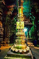 Flag staff, Sri Meenakshi Temple, Madurai, Tamil Nadu, India