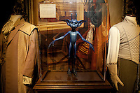 """Cornish Pixie at the """"Harry Potter"""" exhibition at Discovery Times in New York. ..Photo by Robert Caplin."""