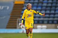Football - 2018 / 2019 SSE Women's FA Cup - Semi Final: Reading FC Women vs. West Ham United Women<br /> <br /> Reading's Grace Moloney can't speak to her team mates after her heroics in the penalty shoot out count for nothing as West Ham win the shoot out at Adams Park <br /> <br /> COLORSPORT/SHAUN BOGGUST