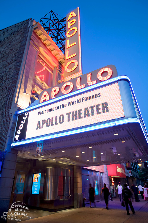 Apollo Theater, 125th Street, Harlem, Manhattan, New York