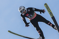 Daniel Huber (AUT) during the 1st round of the Ski Flying Hill Individual Competition at Day 2 of FIS Ski Jumping World Cup Final 2019, on March 22, 2019 in Planica, Slovenia. Photo Peter Podobnik / Sportida