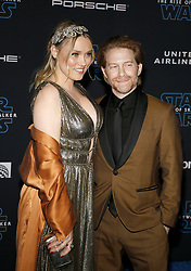 Seth Green and Clare Grant at the World premiere of Disney's 'Star Wars: The Rise Of Skywalker' held at the Dolby Theatre in Hollywood, USA on December 16, 2019.