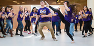 """Town of Wallkill, New York -   Washingtonville High School students perform a scene from """"Once Upon A Mattress"""" during the Orange County Arts Council's All-County High School Musical Showcase and Arts Display at the Galleria at Crystal Run on Feb. 27, 2016."""